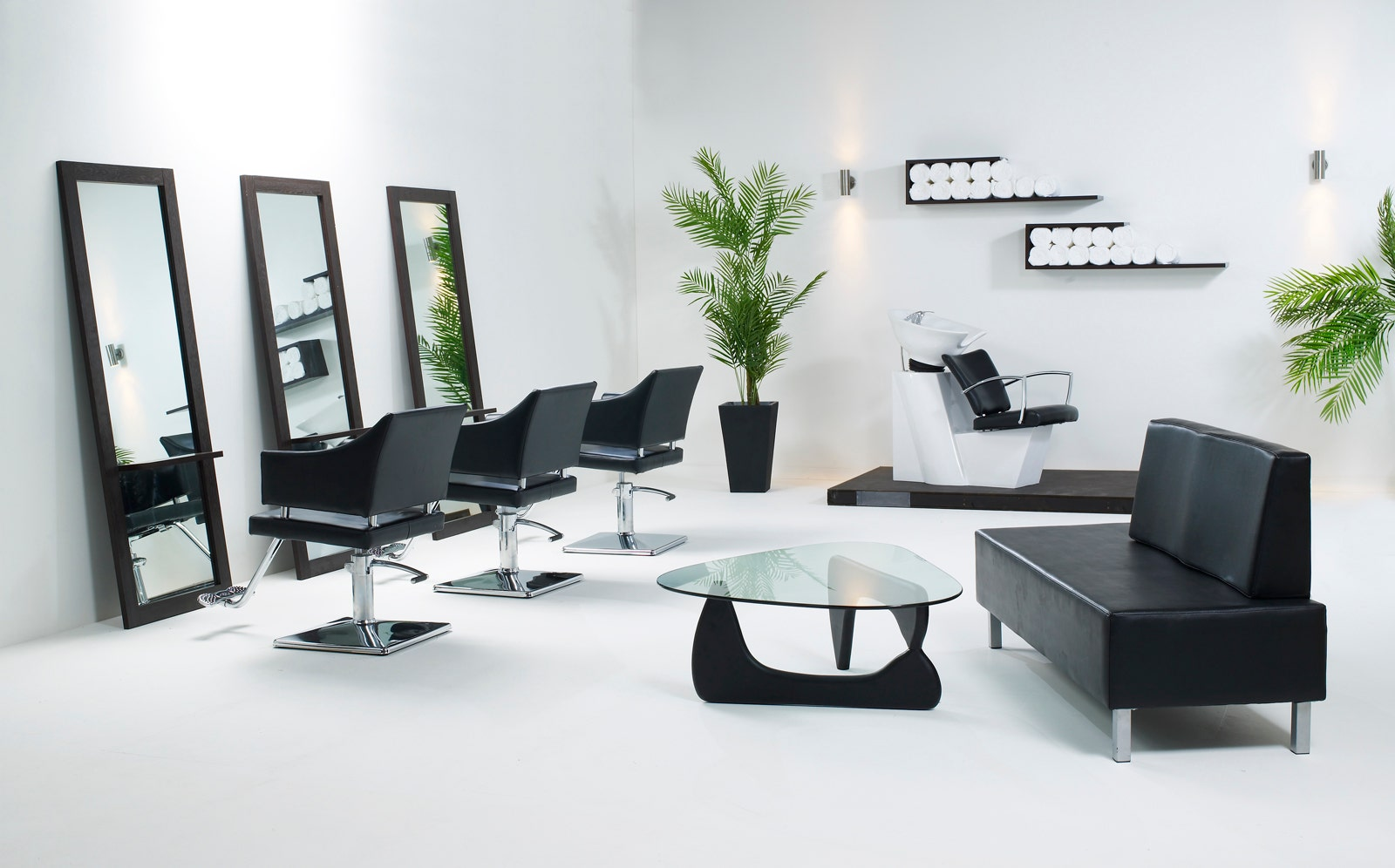 Salon equipment salon furniture living it up for Beautician furniture